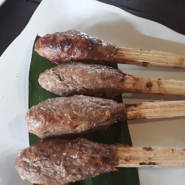 Sate Lilit Ikan Bakar Slengseng (credit @Wida_Astri_Febriana) on IG)