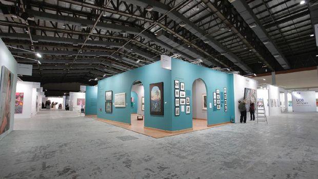 Photo OPPO Art Jakarta Virtual 2020 from detikHot