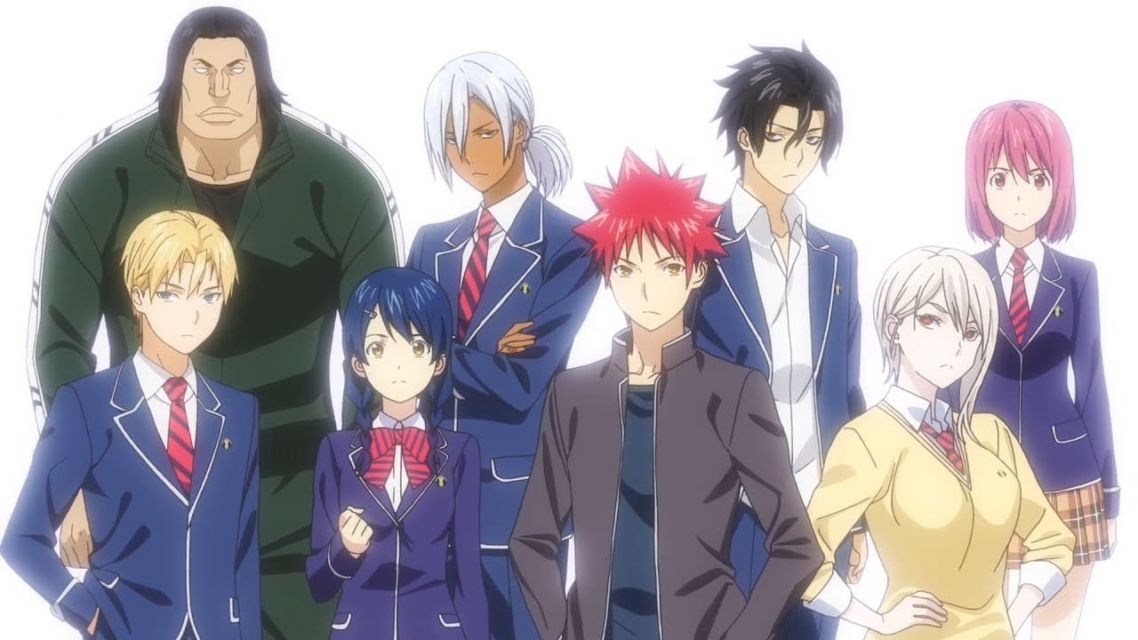 Photo Anime Shokugeki No Souma by Kenneth Hayden
