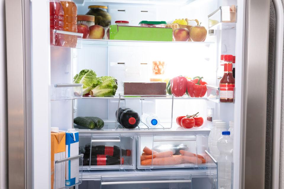 Suhu kulkas untuk menyimpan sayuran