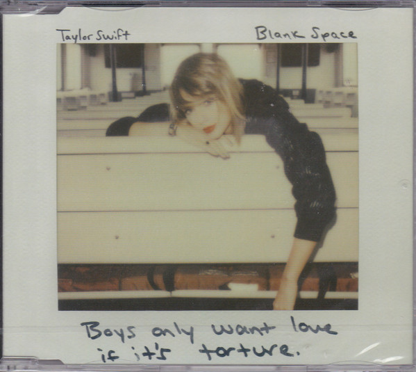 Photo Taylor Swift – Blank Space by Discogs