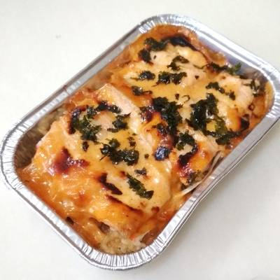 Salmon Kani Mentai by Cookpad