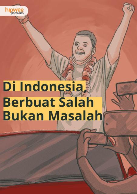 Bukti Kalau Indonesia Bangsa Pemaaf dan Pelupa. Walau Pernah Salah, Karier Dijamin Cerah