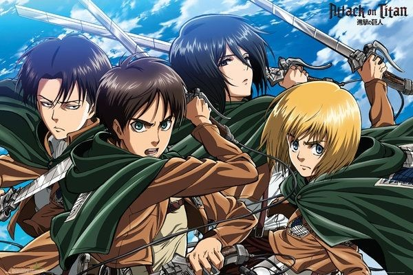 Attack on Titan from Pinterest
