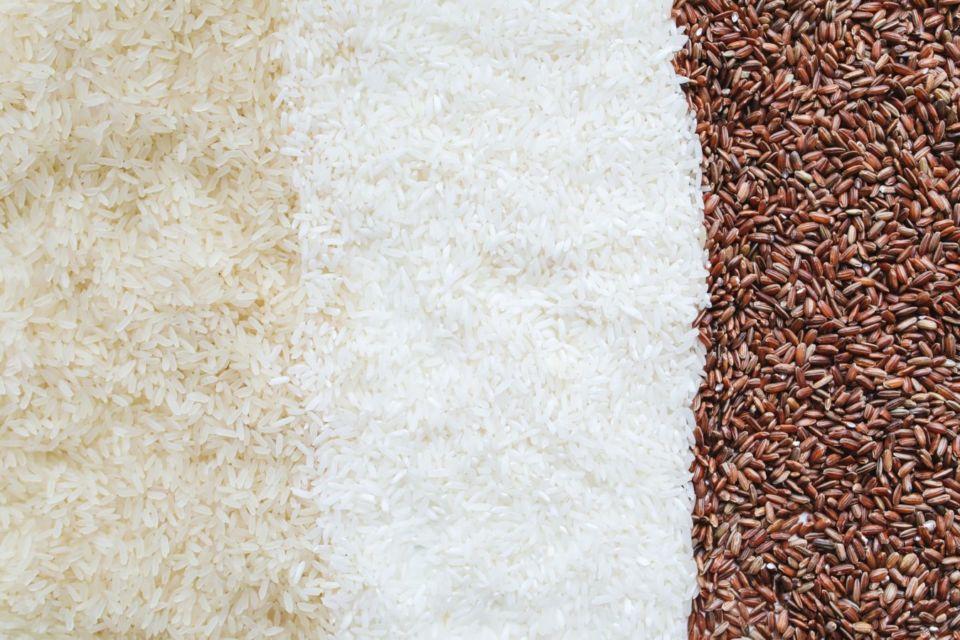 Perbedaan beras merah dan beras putih
