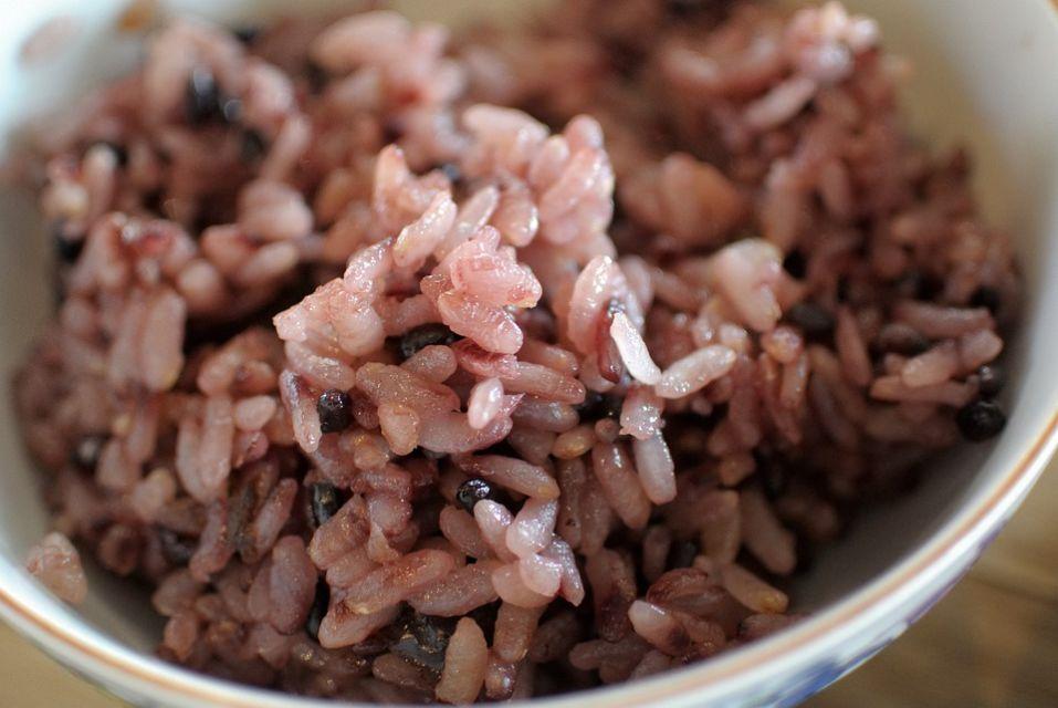 Takaran beras merah untuk diet